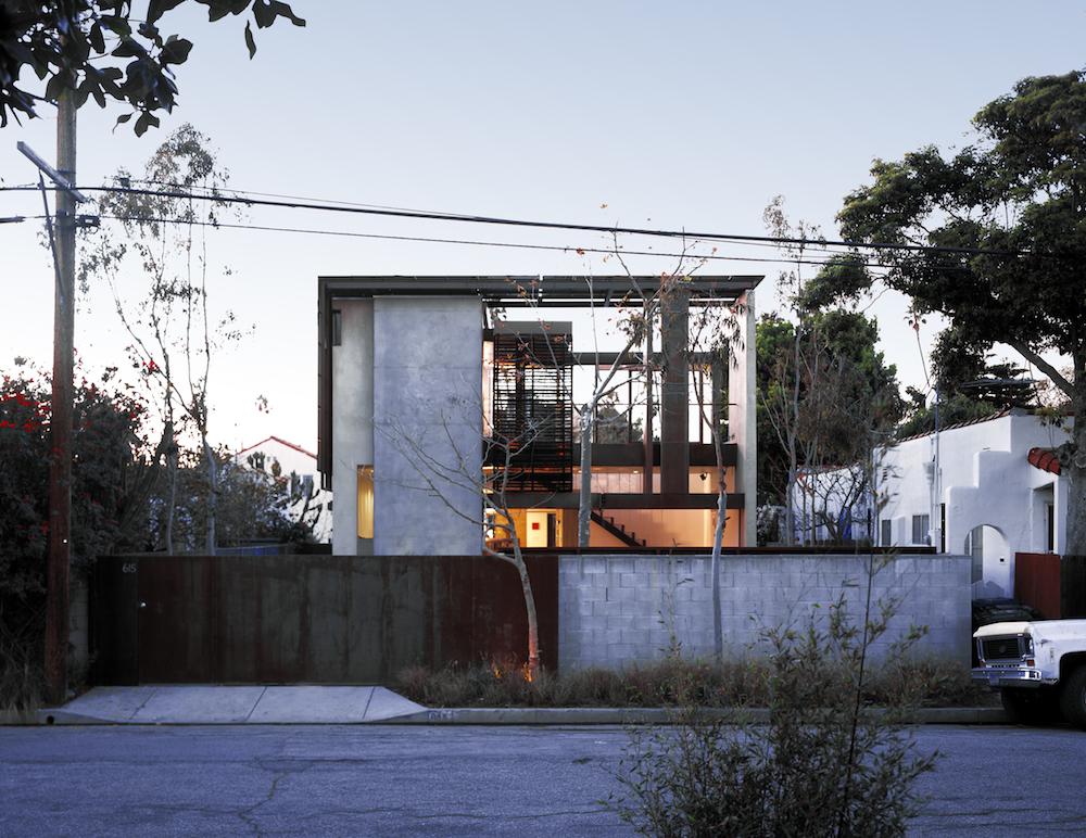 Solar Umbrella House - From Woodlarm Avenue